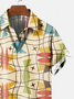 Cotton-Blend Vintage Printed Shirts & Tops